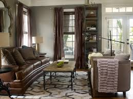 Interior Design With Brown Leather Couches Photos John Mcclain Design Hgtv