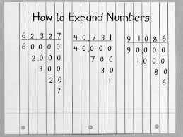 math place value chart alex lesson plan explorations in place