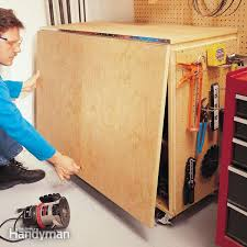 5 Workbench Ideas For A Small Workshop Workbench Plans Portable by Workbench Plans Workbenches The Family Handyman