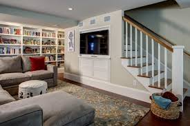 Kitchen Design With Basement Stairs Tv Mounted On Staircase Google Search Television Cabinet Ideas