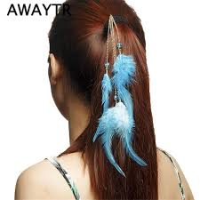 feather hair clip feather hair clip hairpin 2017 hair extension feathers hair