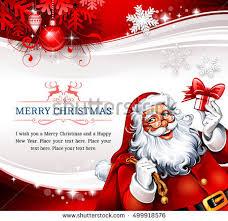 free vector santa claus greeting card download free vector art