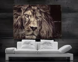 beautiful decoration lion popular lion wall art home decor ideas