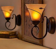 Flameless Candle Wall Sconce Set 2 Have A Set Of These Definitely Getting Another Set They Look