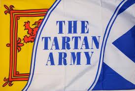 tartan army scotland 5 x 3 flag