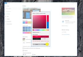 Accent Colors by Windows 10 Creators Update All The New Features Microsoft Didn U0027t