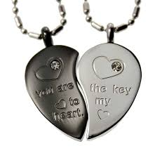 couples heart pendant necklace images R h jewelry stainless steel lovers couple matching jpg