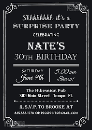 the 25 best surprise birthday invitations ideas on pinterest