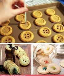 astuce de cuisine sablés en forme de bouton des astuces de cuisine sucrée