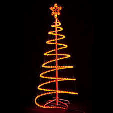 rope light tree festival of lights lighted trees