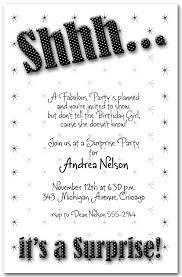 surprise party invitation maker free misc pinterest