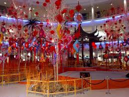 New Year Garden Decoration by Chinese New Year 2008 In Kuala Lumpur Shopping Malls Yowazzup A