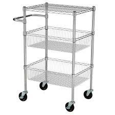 wire kitchen cart kitchen island u0026 cart kitchen utility cart