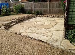 Flagstone Patio Installation Paver Brick Patios And Walkways