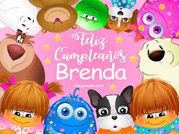 imagenes de cumpleaños para brenda feliz cumpleaños brenda brenda tarjetas
