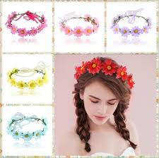 floral headband aliexpress buy summer flower crown floral headband