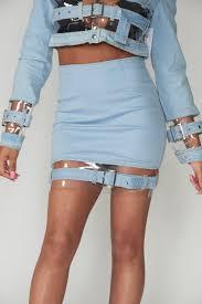 light wash denim skirt buy clear denim skirt light wash online at best price entice one
