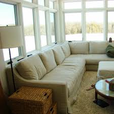 bedroom chraming sunroom design ideas with sectional sofa