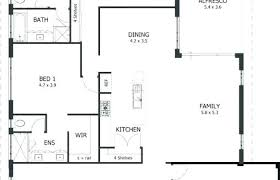 simple four bedroom house plans modern house plans simple 4 bedroom plan six split large 2 with two