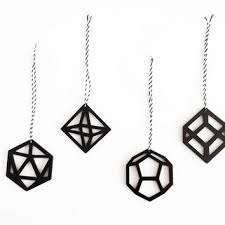 shop geometric ornaments on wanelo