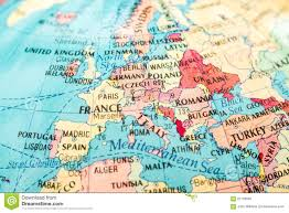 macro image of a map of europe stock photo image 61159592