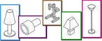 sketching an isometric projection design and technology