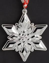 gorham snowflake ornament at replacements ltd