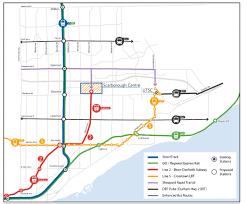 Ttc Subway Map by One Subway 17 Lrt Stops Coming To Scarborough