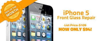 iphone 5 deal of the month last week to save mission repair