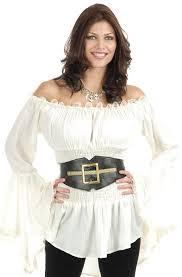 plus size pirate blouse pirate costume pirate vixen blouse costume ch 02307 upc 0