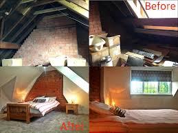 before u0026 after in a rear dormer loft conversion master bedroom