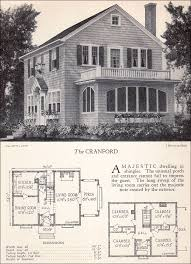 colonial revival house plans traditional 1928 colonial revival house plan the cranford home