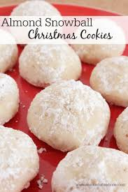 almond snowball christmas cookies e1416099052163 jpg
