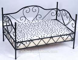 luxury wrought iron pet bed view wrought iron pet bed shilee