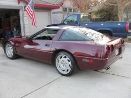 93 corvette zr1 purchase used 1993 93 chevrolet corvette 40th anniversary ruby