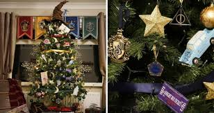 themed christmas tree harry potter themed christmas tree will make your holidays more