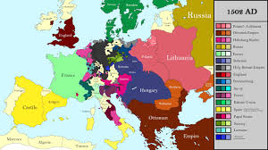 World Map 1500 by History Of Europe Every Year 1500 2017 Preview Youtube