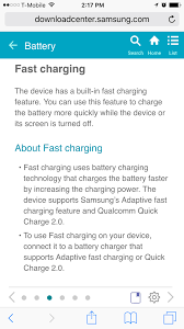 samsung s7 s7 edge doesn u0027t feature quick charge 3 0 android