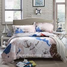 Anchor Bedding Set Seashell Comforter Set Best 25 Nautical Bedding Sets Ideas On