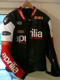 racing biker jacket aprilia leather jacket and race suit