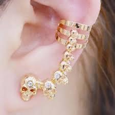 earrings cuffs ear cuffs gold sliver and stud ear cuff earrings cheap online