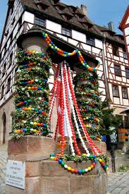 wednesday photo german easter decorations travelin the globe