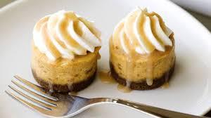mini pumpkin cheesecakes recipe bettycrocker