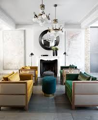 featuring the bacco armchairs diana poufs and martini tables by