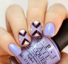 the nail polish challenge purple opi striping tape nail art prom