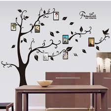 9063a diy family tree wall sticker photo frame wall decal 3d vinyl