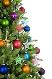 green tree baubles home design and decorating