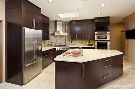 coordinating wood floor with wood cabinets 47 modern kitchens with clean designs