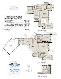 Vancouver Floor Plans Truespace Design Real Estate Floor Plans North Vancouver Bc Home