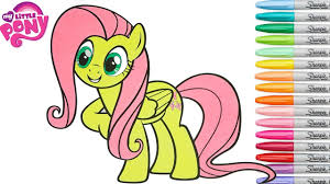 my little pony coloring pages fluttershy my little pony coloring book pages fluttershy mlp rainbow splash